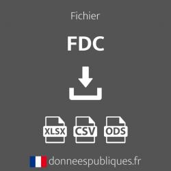 Fichier des FDC