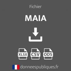 Fichier des MAIA