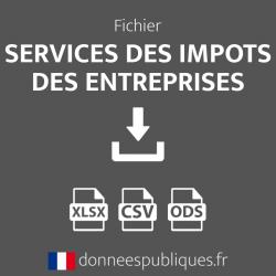 Fichier des Services des impôts des entreprises