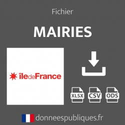 Fichier emails des mairies de la région Île-de-France