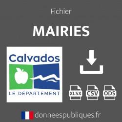 Fichier emails des mairies du département du Calvados (14)