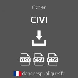 Fichier des CIVI