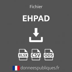 Fichier emails des EHPAD