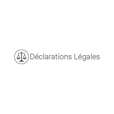 Déclarations légales