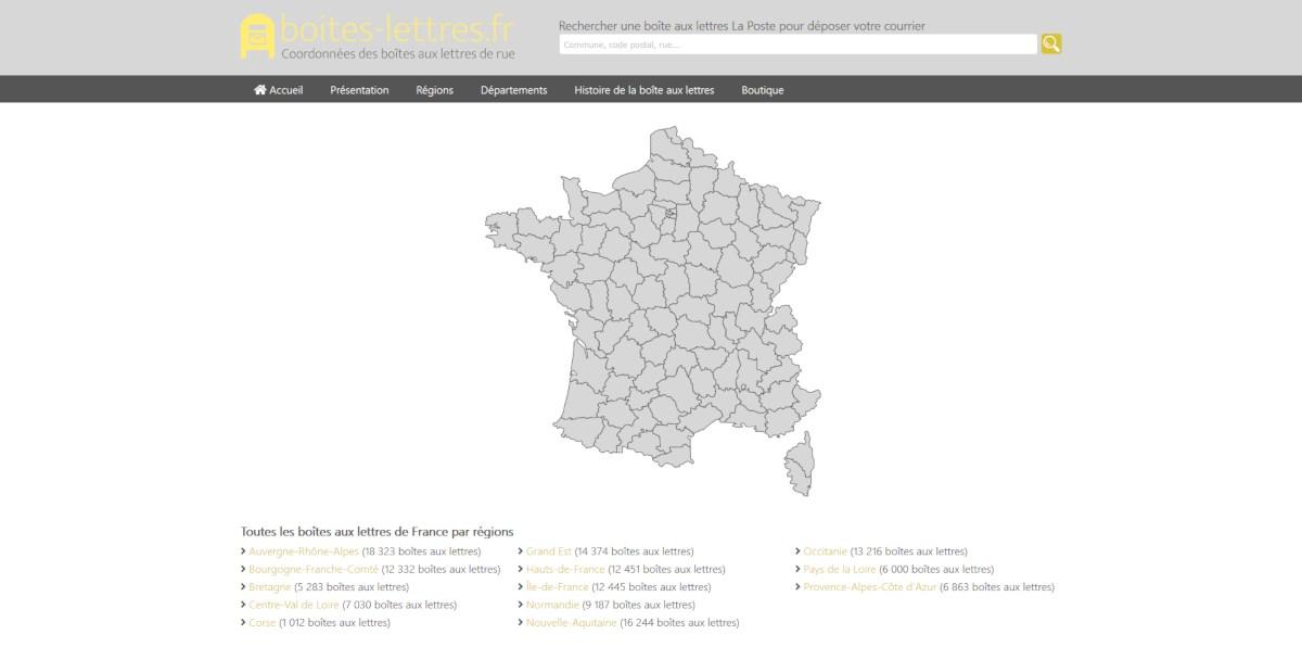Site boites-lettres.fr
