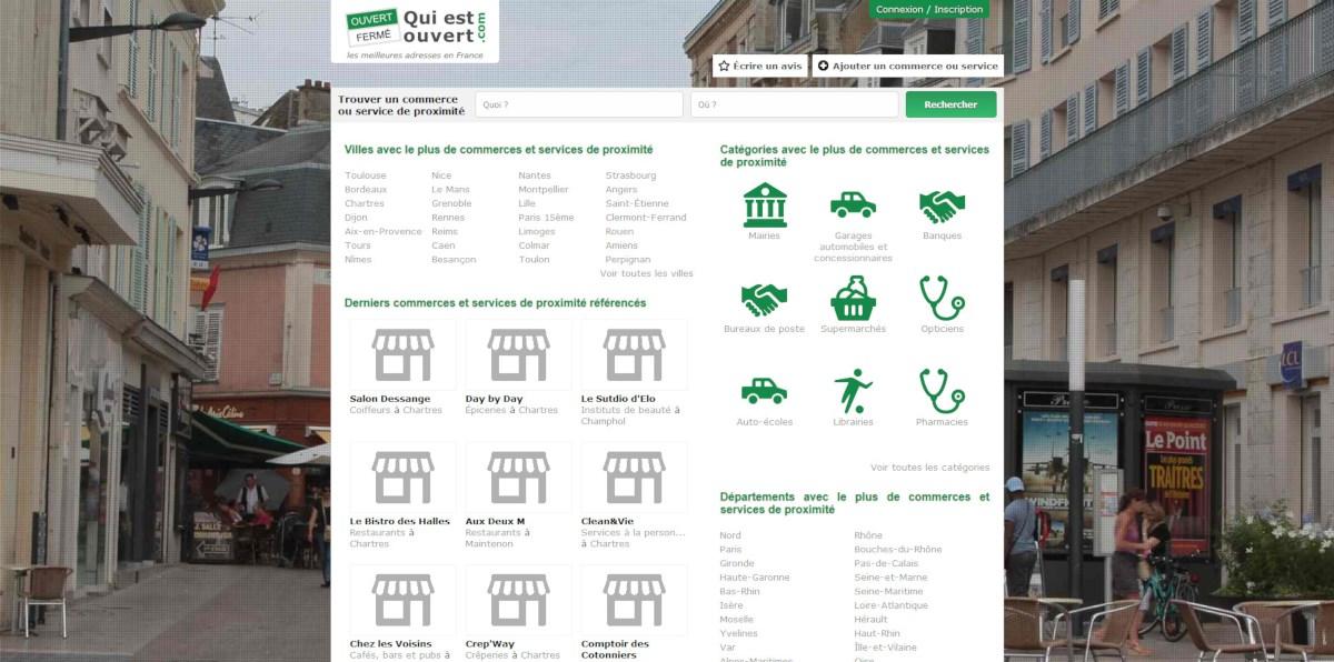 Site Quiestouvert.com